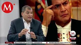 Antes de AMLO, México sólo veía al norte, no veía al sur: Rafael Correa