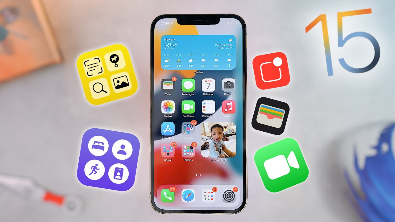 iOS 15 brings powerful new features to stay connected, focus ...