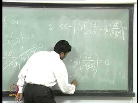 NPTEL :: Physics - Quantum Field Theory