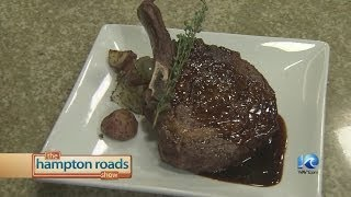 Dry Aged Delmonico With Herb Roasted Potatoes And Veal Demi-glace