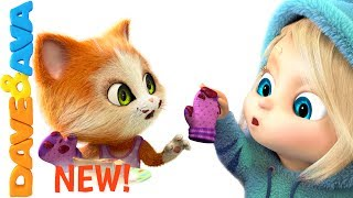 Video 🎶 Three Little Kittens Songs for Toddlers | Nursery Rhymes from Dave and Ava 🎶 download MP3, 3GP, MP4, WEBM, AVI, FLV Januari 2018