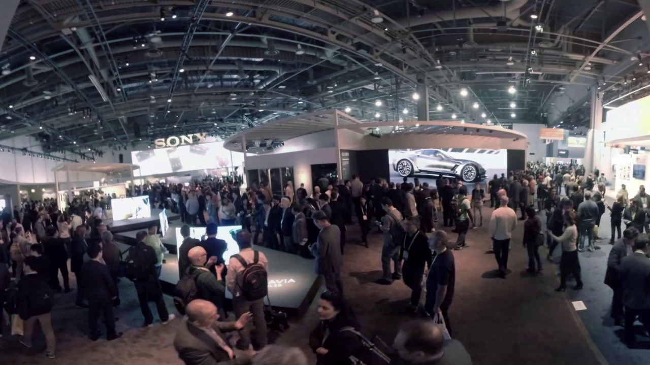 Check Out Sonys Ces 2017 Booth In 360 Degrees