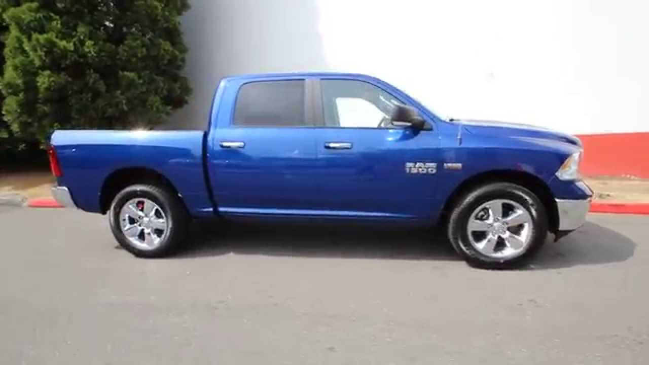 2015 Dodge Ram 1500 Big Horn Blue Streak Fg711733