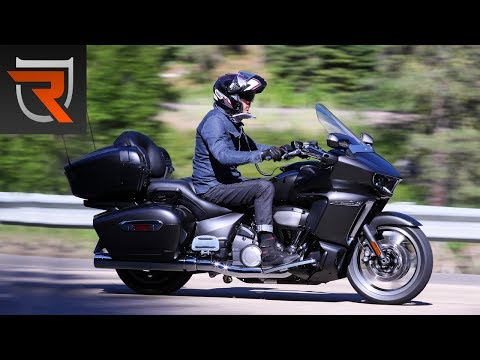 2018 Yamaha Star Venture First Test Review Video - Part 2 | Riders Domain