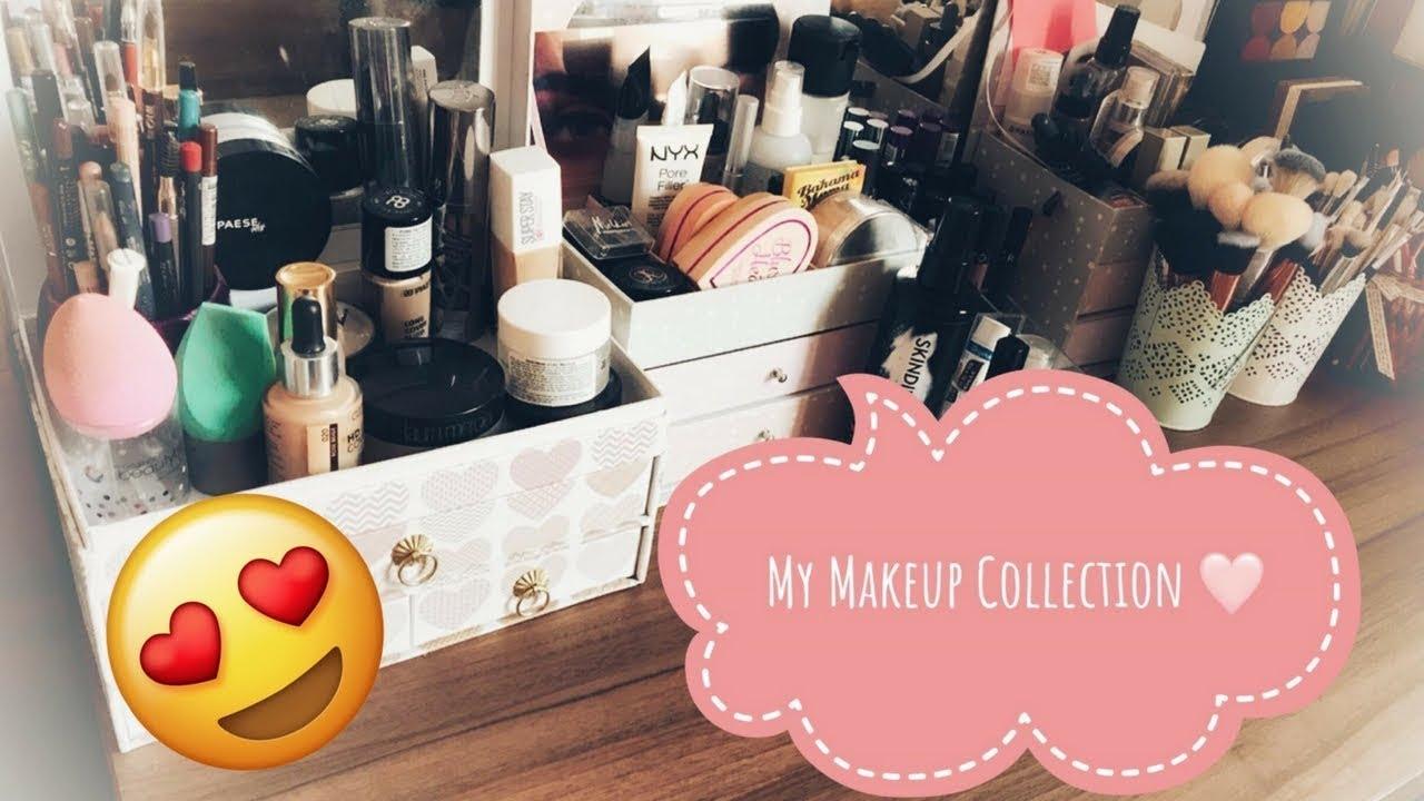 Colectia Mea De Produse De Machiaj My Makeup Collection Sandra