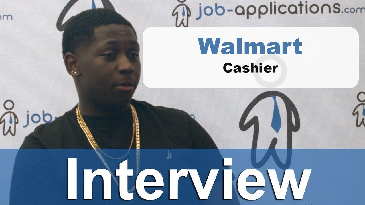 Walmart Interview Cashier Youtube