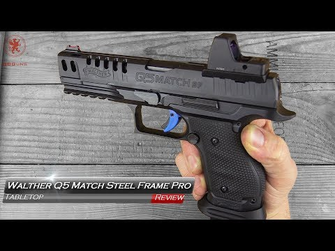 Walther Q5 Match Steel Frame Tabletop Review and Field Strip