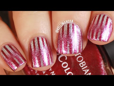 DOUBLE GRADIENT Nail Art Design Tutorial -- KELLI MARISSA - 동영상