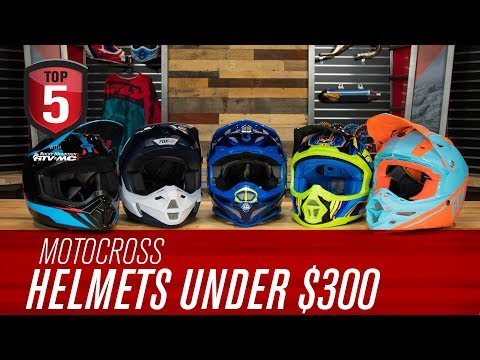 Top 5 Motocross Helmets Under $300