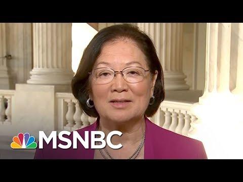 Senator Mazie Hirono Calls GOP Health Care Bill 'Unconscionable'   MTP Daily   MSNBC