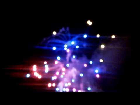 feu d'artifice part1 à Bayonne 2014
