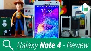 Samsung Galaxy Note 4 - Review en español