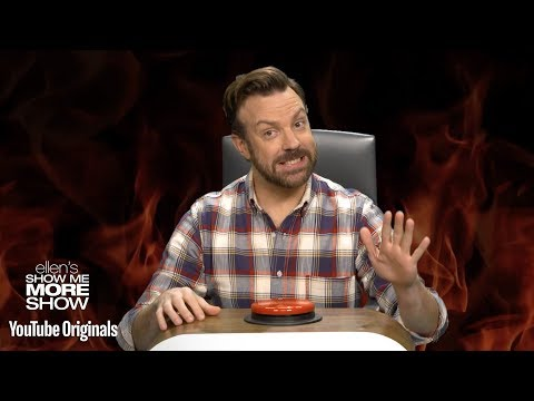 Jason Sudeikis Answers Ellen's Burning Questions