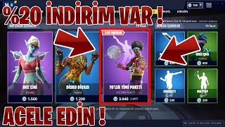 content 20% discount at the STORE! HURRY UP! (Fortnite Battle Royale Turkish)
