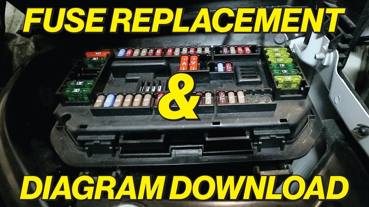 Bmw F30 Fuse Diagram And Cigarette Lighter Fuse