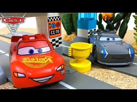 3 De Pixar La Lego Piston Cars Carrera Disney Con Copa Rayo Duplo Jlu1FcTK3