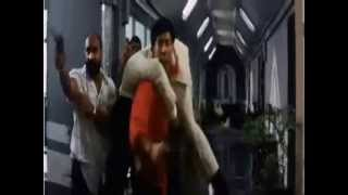 Sunny Deol carries a guy over his shoulder