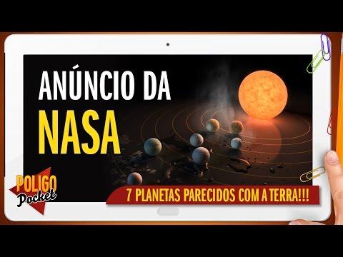 NASA/ESO Descobre Sistema com 7 Planetas Parecidos com a Terra!!   PoligoPocket