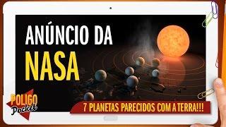 NASA/ESO Descobre Sistema com 7 Planetas Parecidos com a Terra!! | PoligoPocket