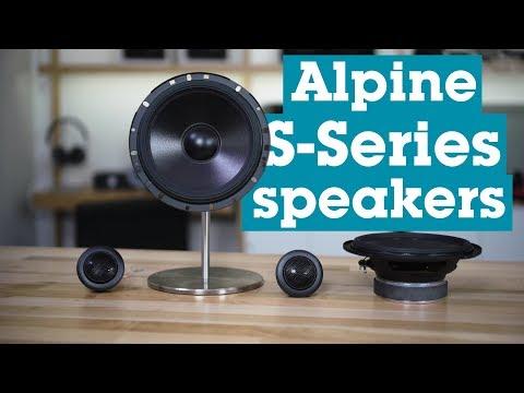 Alpine S-Series Car Speakers   Crutchfield Video