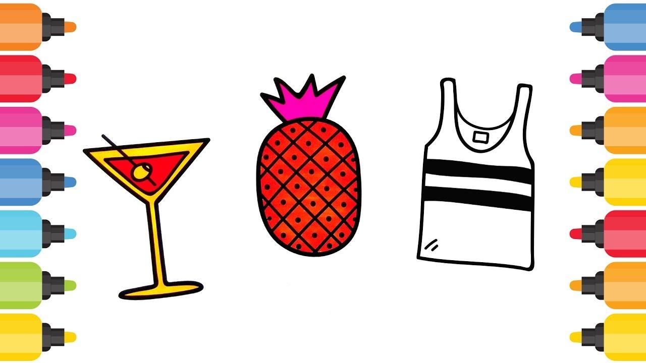 Ananas Meyve Suyu T Shirt Boyama Oyunu Youtube