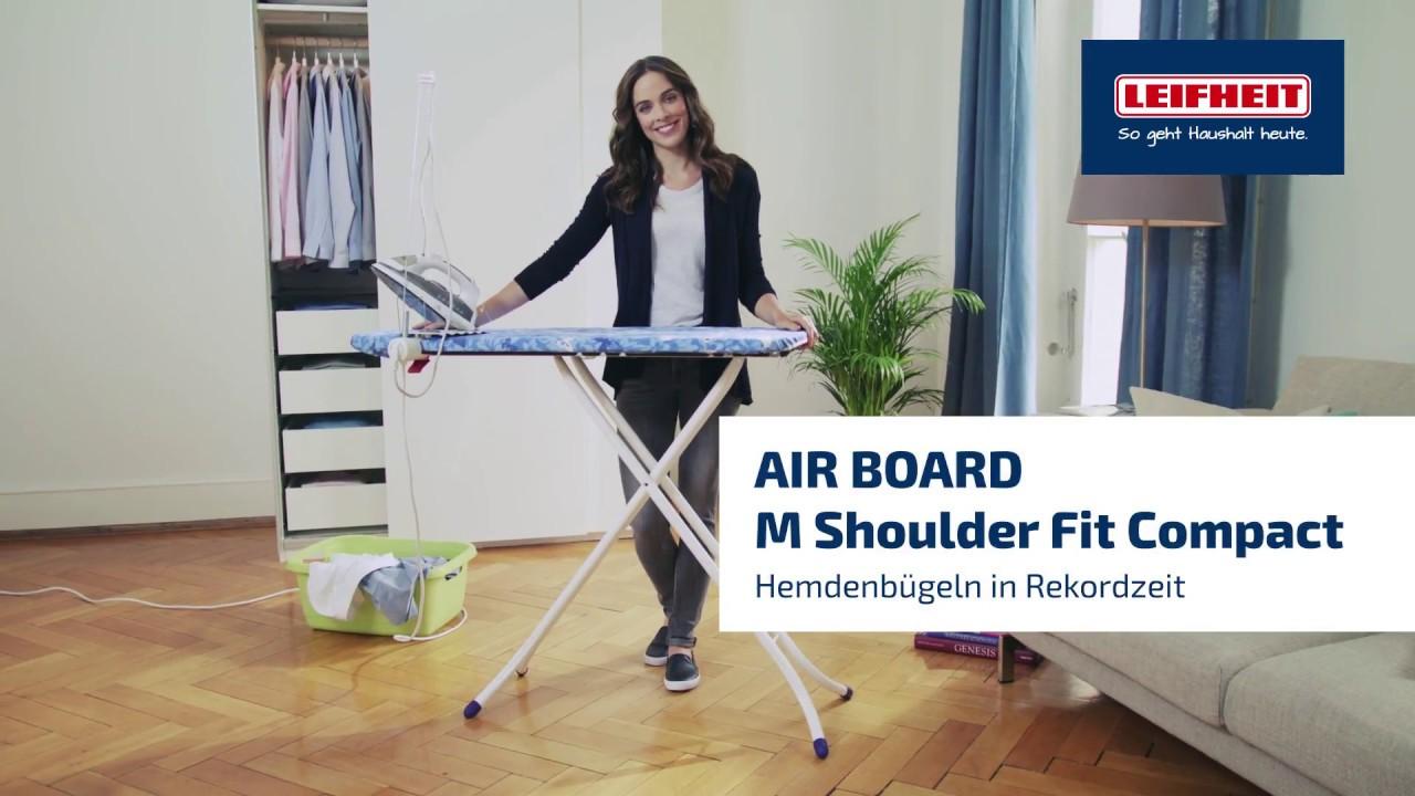 Leifheit Air Board M Shoulder Fit Compact Mediamarkt