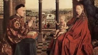 [ La Petite Histoire de l'Art ] : La Vierge du Chancelier Rolin de Jan Van Eyck,