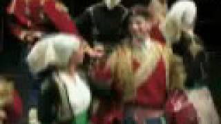 CRNOGORSKI ansambl KUD Njegos - Oj, Vrsuto goro velja CETINJE folklor