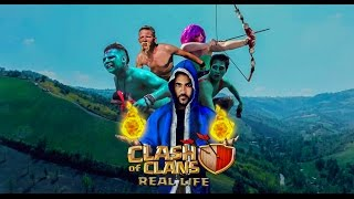 CLASH OF CLANS: in real life - Movie Adventure