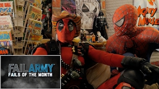 FAIL ARMY - REACTION SPANDEX - WITH SPIDER-MAN AND DEADPOOL