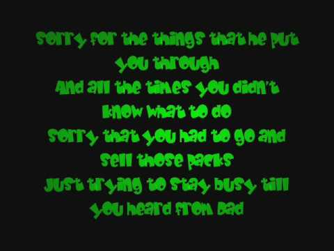 Akon - Sorry, Blame It On Me Lyrics