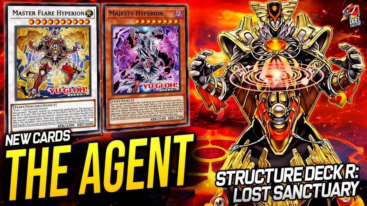 Deck The Agent - Structure Deck R Lost Sanctuary [JUNE 2021]