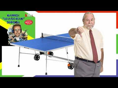 Whackhead Simpson - Unwanted Table Tennis Table