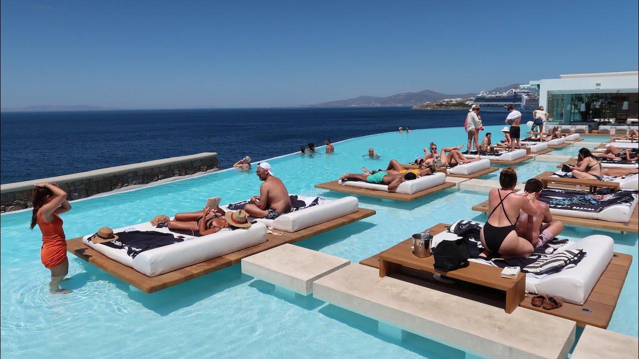 CAVO TAGOO, Mykonos' trendiest 5-star hotel (Greece): full tour
