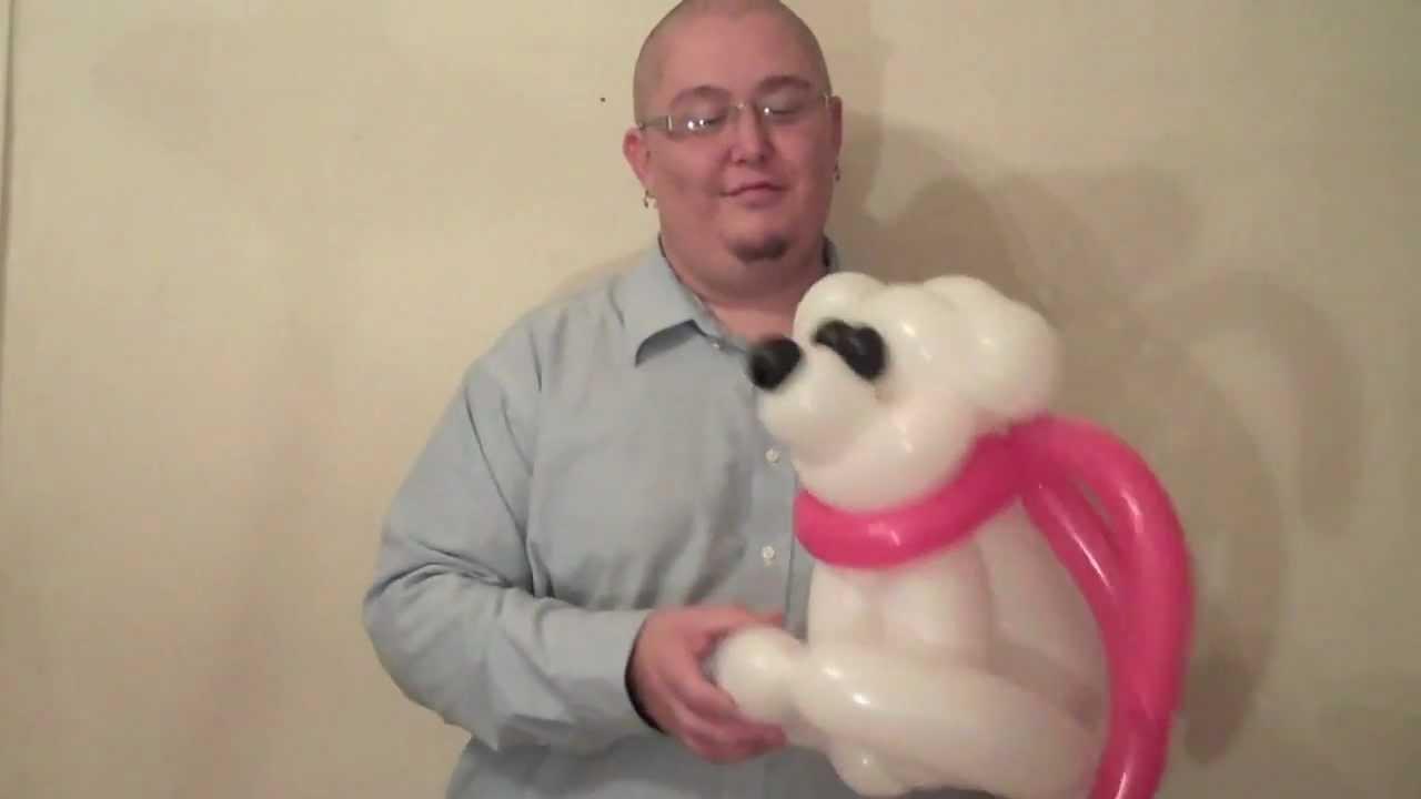 Christmas bear balloon animal chitwist chicago balloon twisting