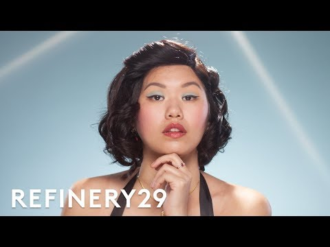 I Tried A 1950's Makeup Tutorial | Beauty With Mi | Refinery29