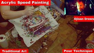 Acrylic Painting Freestyle