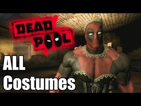 Deadpool 'All Costumes' [1080p] TRUE-HD QUALITY