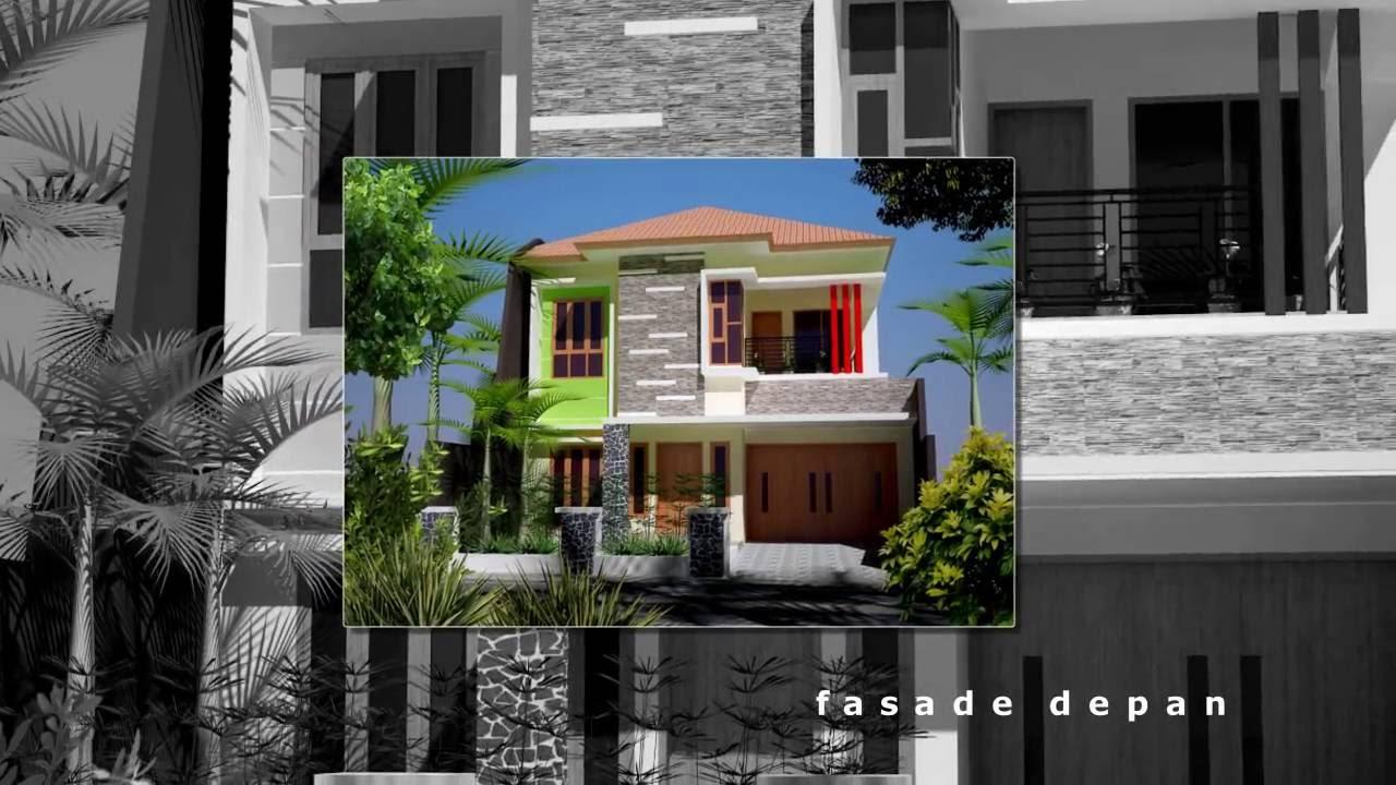 Desain Rumah Asri 2 Lantai Di Karangploso Malang YouTube