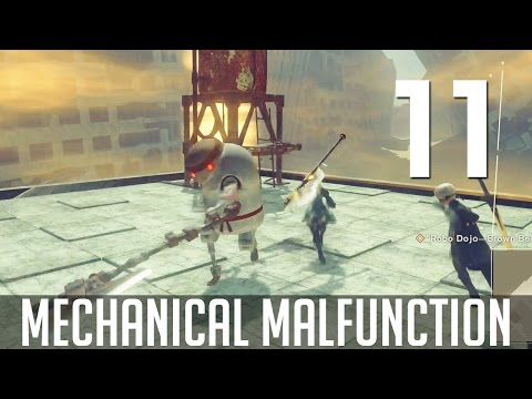 [11] Mechanical Malfunction (Let's Play NieR: Automata PC w/ GaLm)