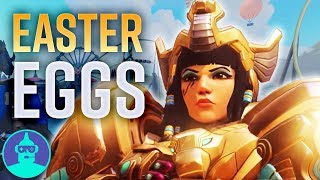 Blizzard World Easter Eggs You May Have Missed - New Map - Easter Eggs #15 | The Leaderboard