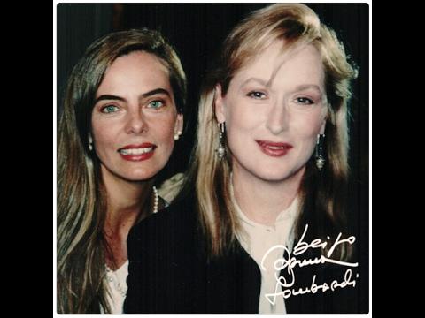 Bruna Lombardi entrevista meryl streep nos anos 90