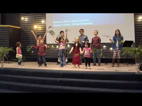Palm Sunday Hosanna Kids Song