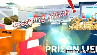 Flucht aus dem Gefängnis