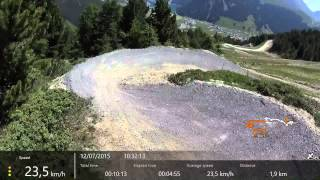 Roller Coaster flow-trail, Carosello 3000 - Livigno