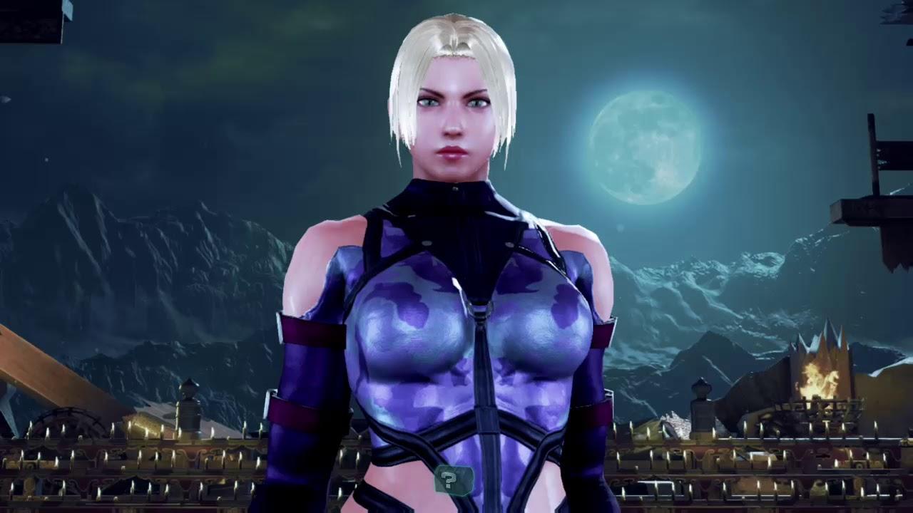 Tekken 7 Xbox One Nina Williams Tekken 5 Costume Youtube