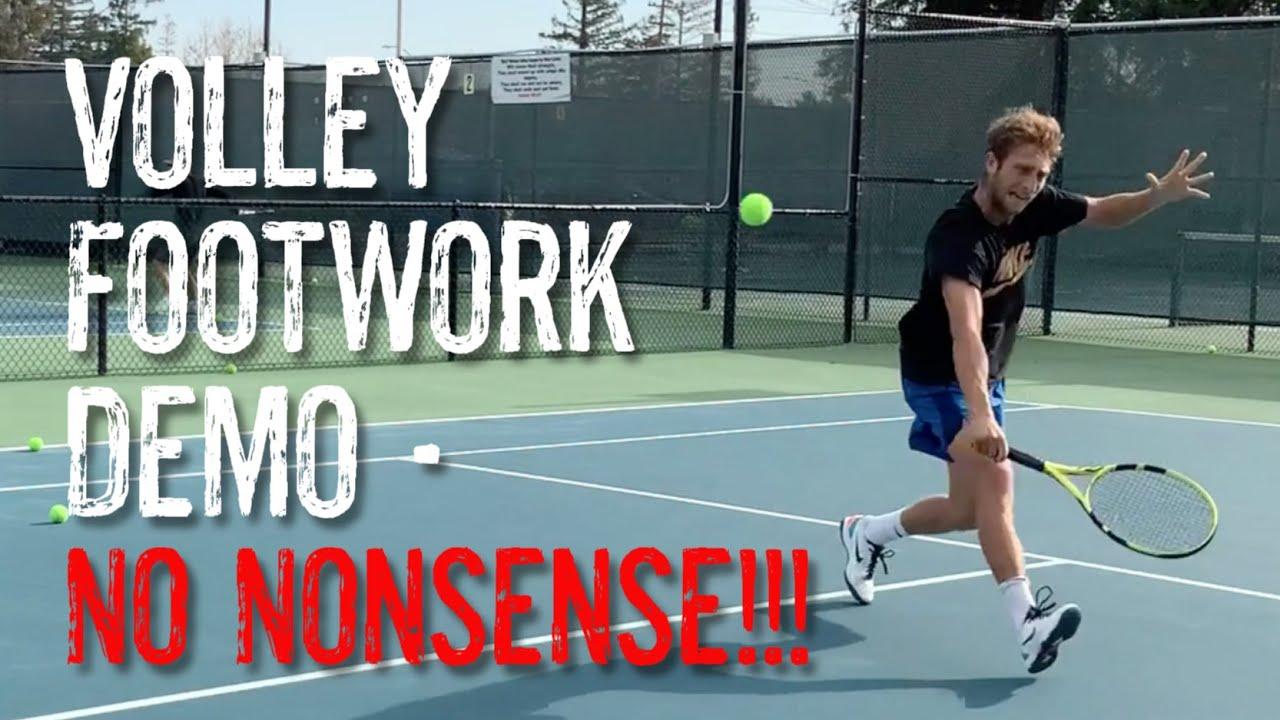 Volley Footwork - No Nonsense