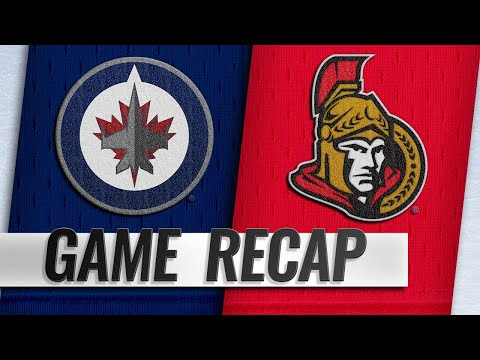 Stone, Nilsson power Senators past Jets