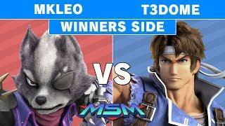 MSM 176 - Echo FOX MVG | MKLeo (Wolf) vs T3Dome (Richter) Winners Pools - Smash Ultimate