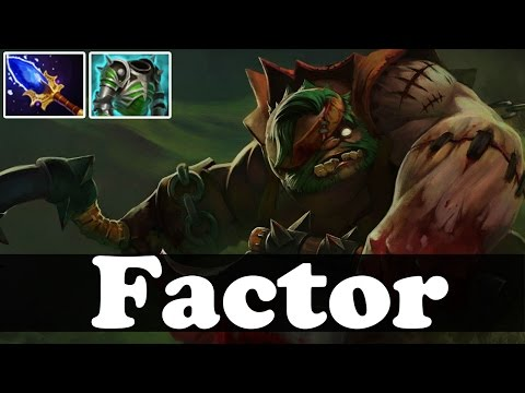 Factor Plays Pudge vol 34 - Ranked And Pub Match Gameplay - Dota 2
